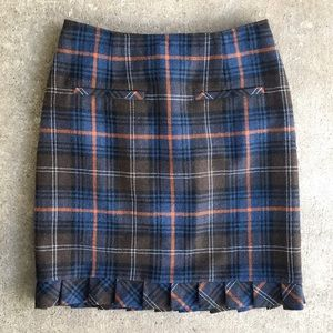 CAbi | #742 Heritage Plaid Skirt